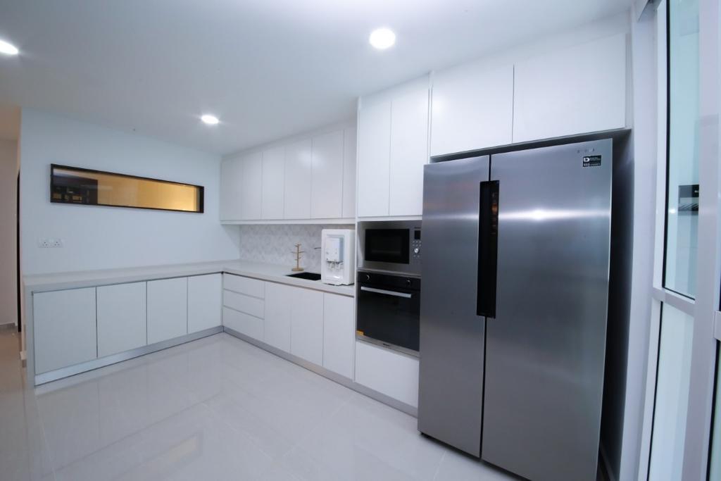 Modern, Landed, Kitchen, USJ 20, Subang Jaya, Interior Designer, Muse Design Group Sdn Bhd, Minimalist