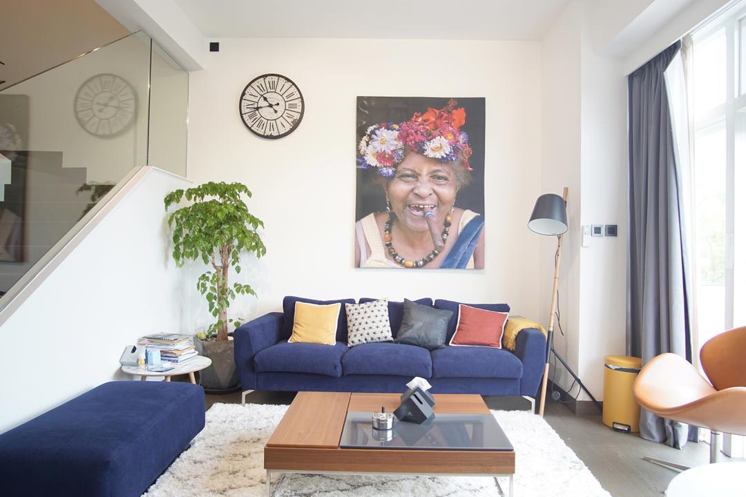 比華利山別墅 Living Room Interior Design 3