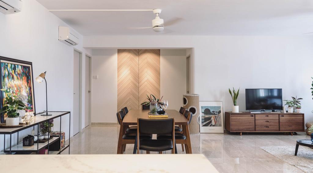 HDB, Living Room, Pasir Ris Street 21, Interior Designer, Artmuse Interior