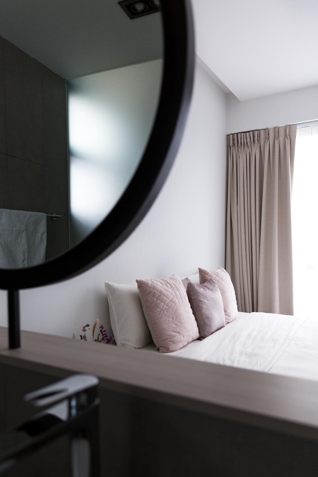 Contemporary, Condo, Bedroom, Water Place, Interior Designer, Habit