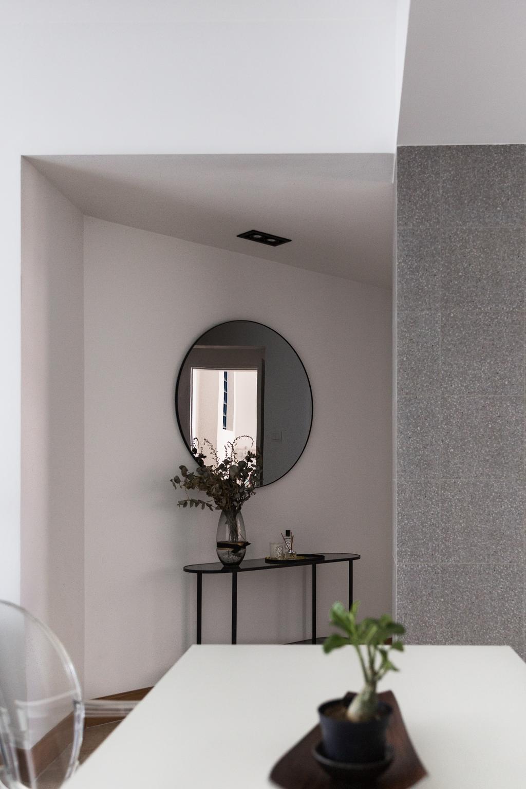 Contemporary, Condo, Living Room, Water Place, Interior Designer, Habit