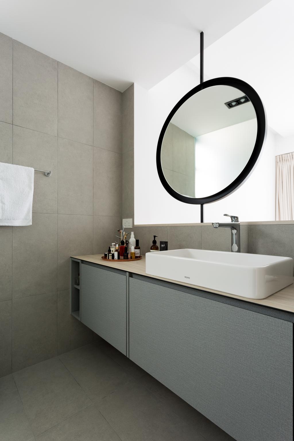 Contemporary, Condo, Bathroom, Water Place, Interior Designer, Habit