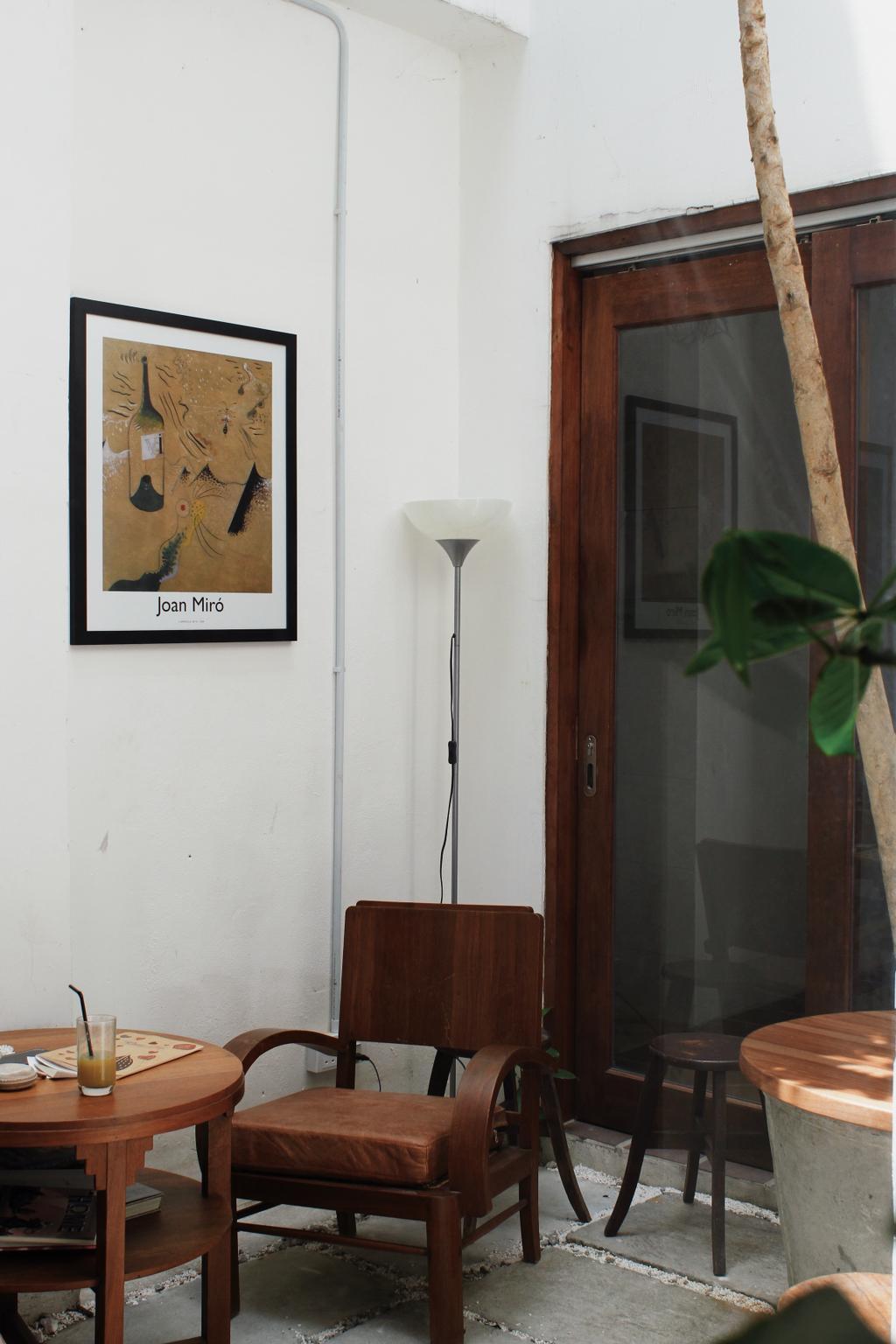 Nook Coffee Shop, Lebuh Melayu, Commercial, Interior Designer, EMPT Studio, Vintage