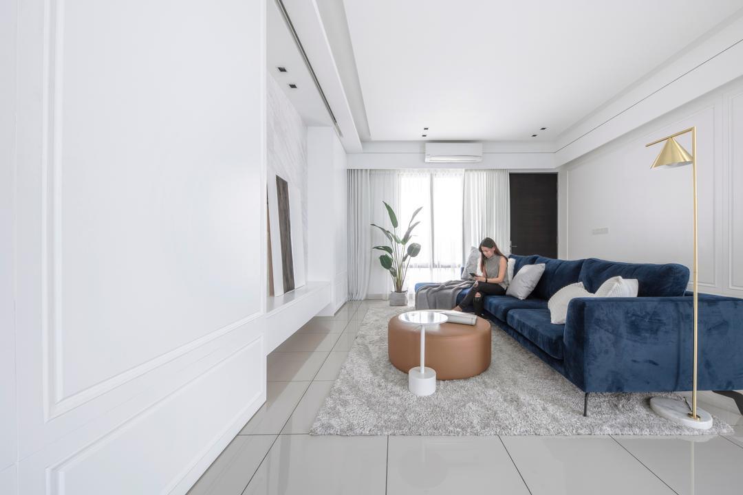 Warisan Puteri, Sepang Living Room Interior Design 2