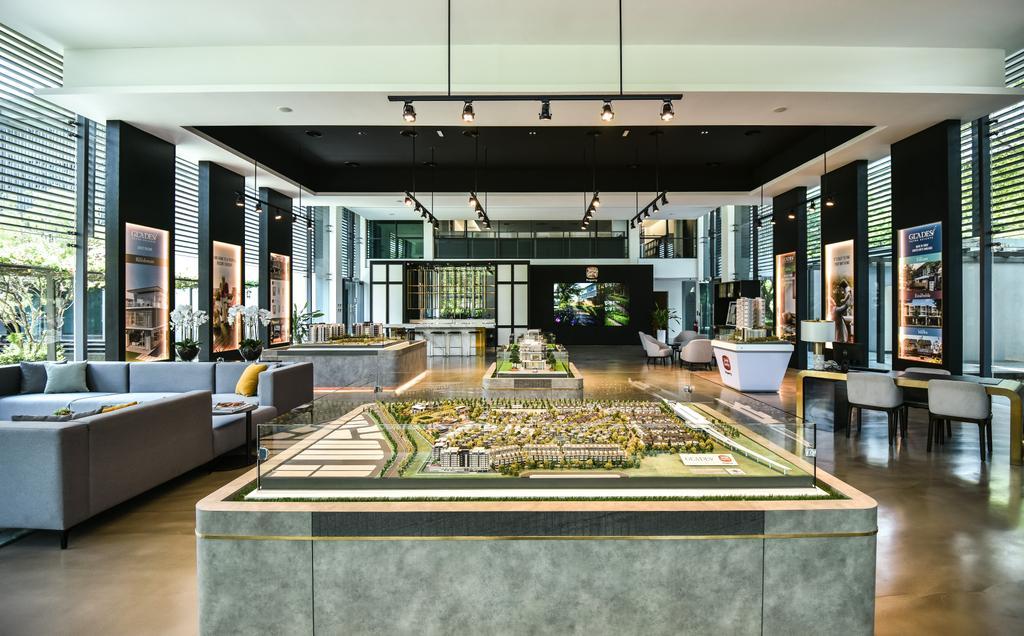 The Glades Sales Gallery, Subang Jaya, Commercial, Interior Designer, SQFT Space Design Management, Modern, Contemporary