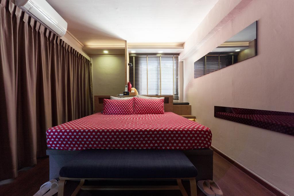 Contemporary, HDB, Bedroom, Changi Village Road, Interior Designer, Bob's Construction & Engineering