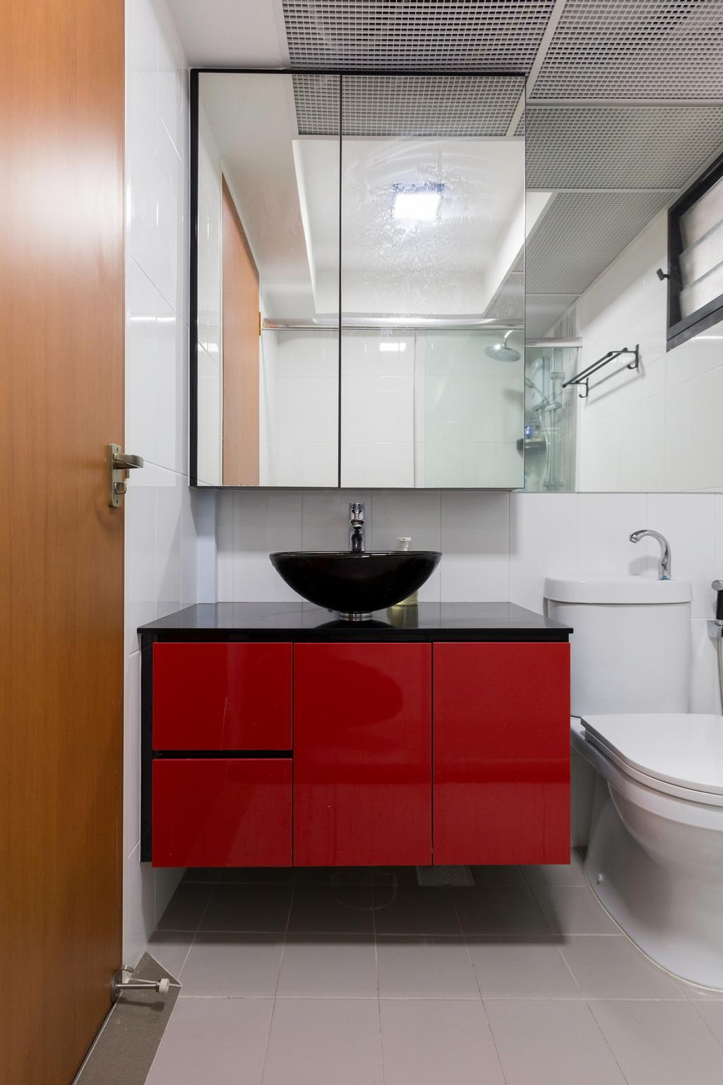 Contemporary, HDB, Bathroom, Yishun Avenue 6, Interior Designer, Bob's Construction & Engineering
