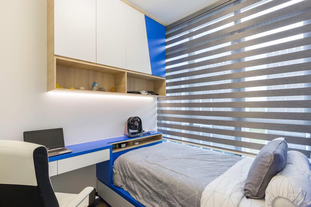 Contemporary, Condo, Bedroom, Symphony Suites, Interior Designer, Azcendant
