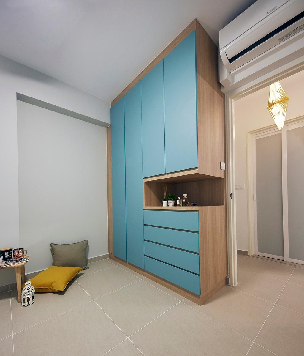 Scandinavian, HDB, Bedroom, Buangkok Tropica, Interior Designer, The Interior Lab