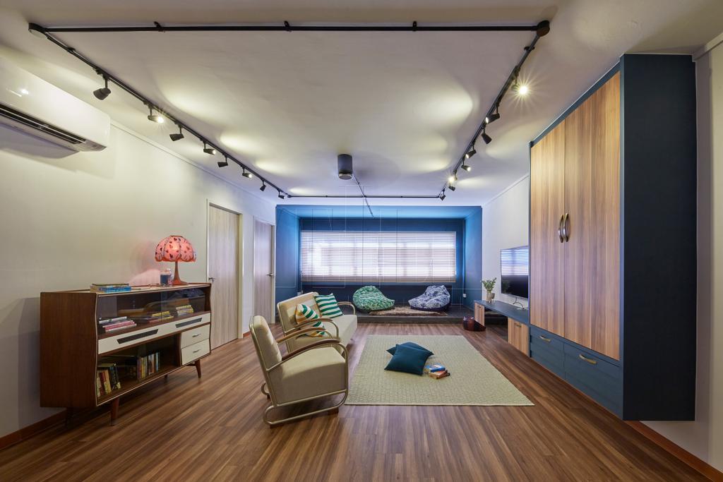 Eclectic, HDB, Living Room, Pasir Ris Street 71, Interior Designer, The Interior Lab