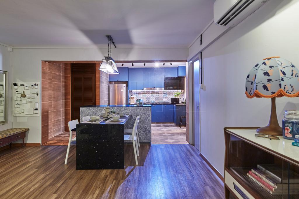 Eclectic, HDB, Dining Room, Pasir Ris Street 71, Interior Designer, The Interior Lab