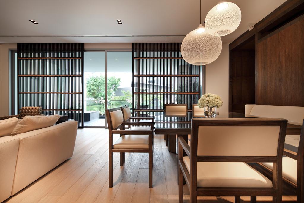 Contemporary, Condo, Living Room, Nassim Park Residences, Interior Designer, Haireliving