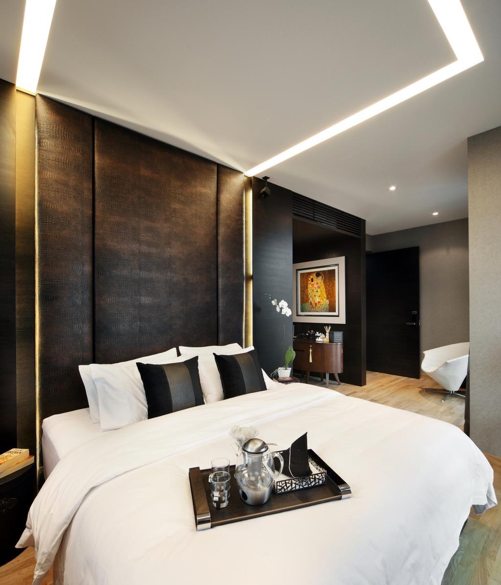 Contemporary, Condo, Bedroom, Quinterra, Interior Designer, Haireliving