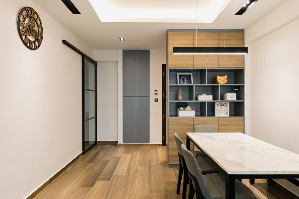 Contemporary, HDB, Dining Room, Bukit Batok West Avenue 6, Interior Designer, The Concept