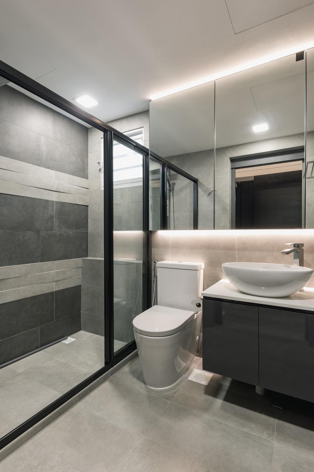 Contemporary, HDB, Bathroom, Bukit Batok West Avenue 6, Interior Designer, The Concept