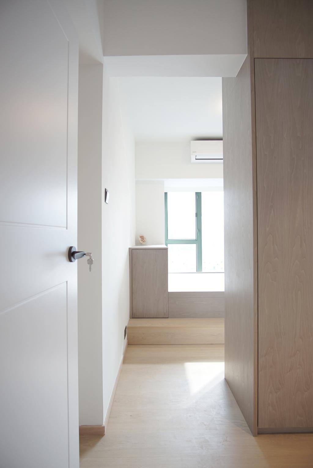 摩登, 私家樓, 睡房, 維港灣, 室內設計師, AQUA Projects, 當代