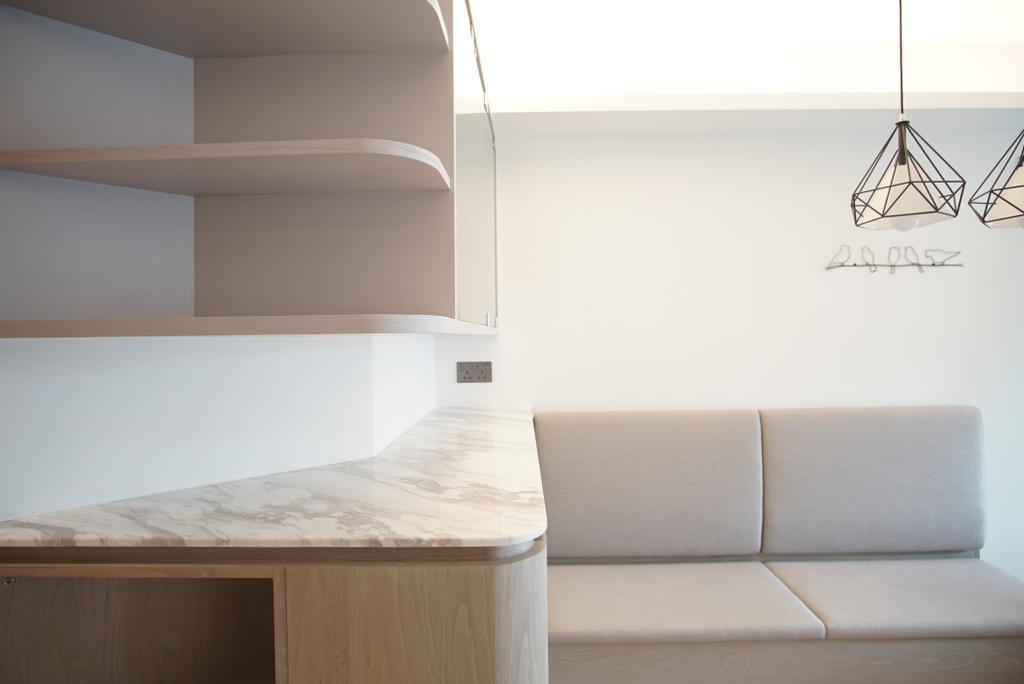 摩登, 私家樓, 飯廳, 維港灣, 室內設計師, AQUA Projects, 當代