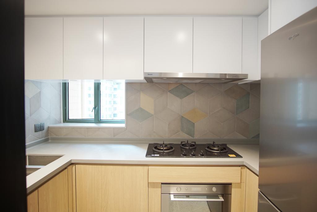 摩登, 私家樓, 廚房, 維港灣, 室內設計師, AQUA Projects, 當代