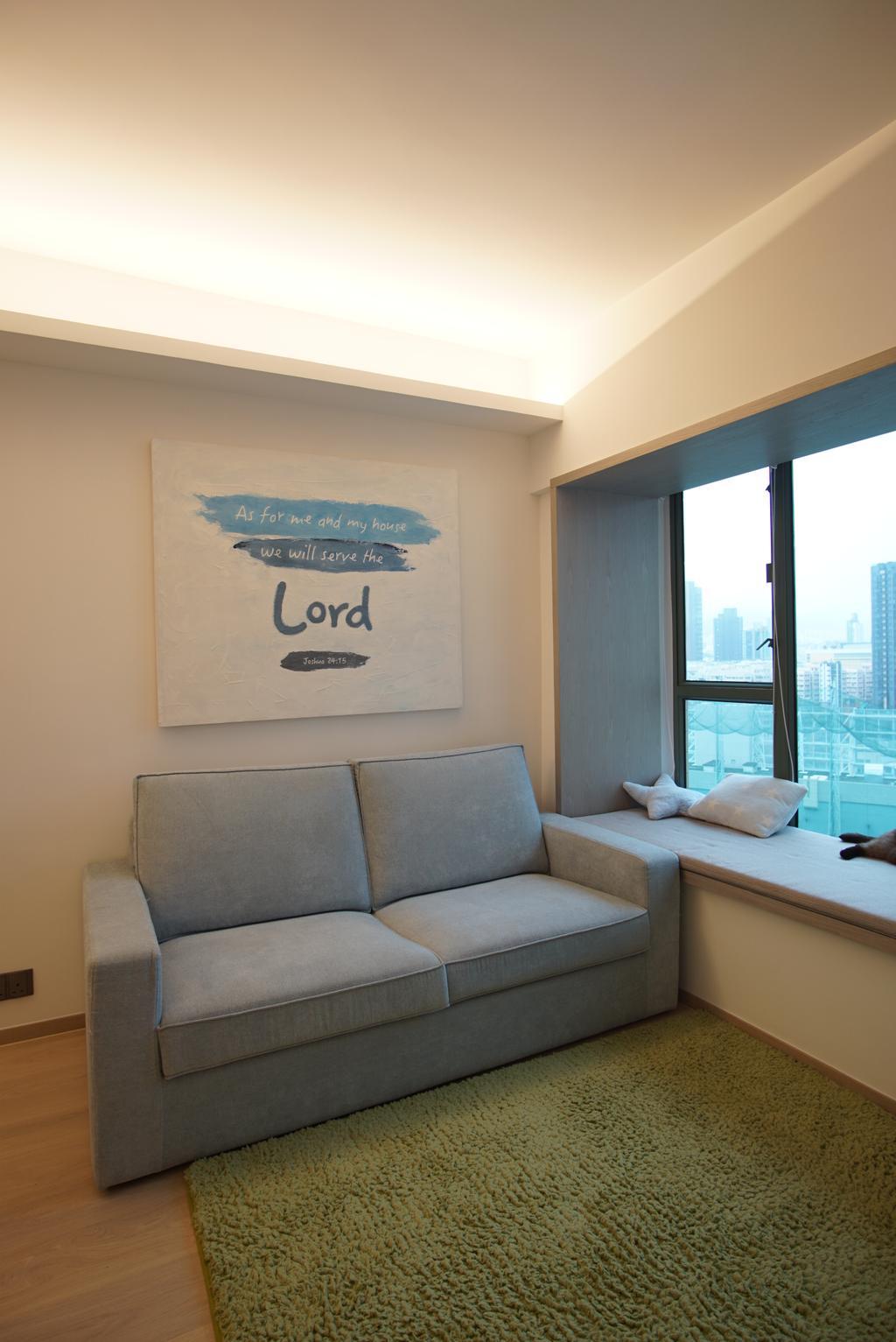 摩登, 私家樓, 客廳, 維港灣, 室內設計師, AQUA Projects, 當代
