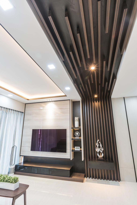 Contemporary, Condo, Living Room, D'nest, Interior Designer, ING Designers