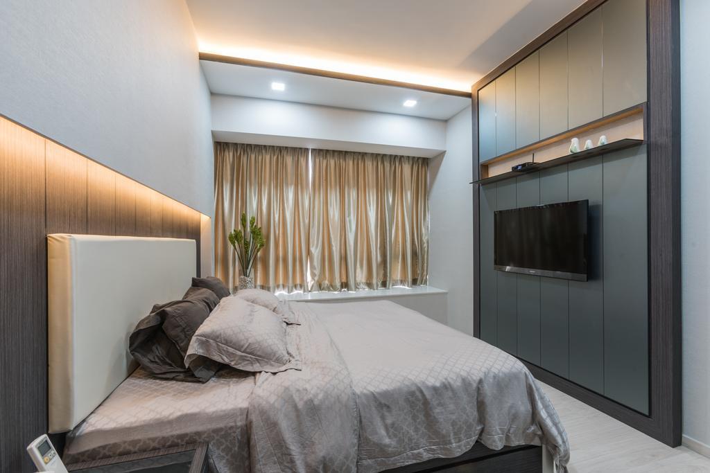 Contemporary, Condo, Bedroom, D'nest, Interior Designer, ING Designers