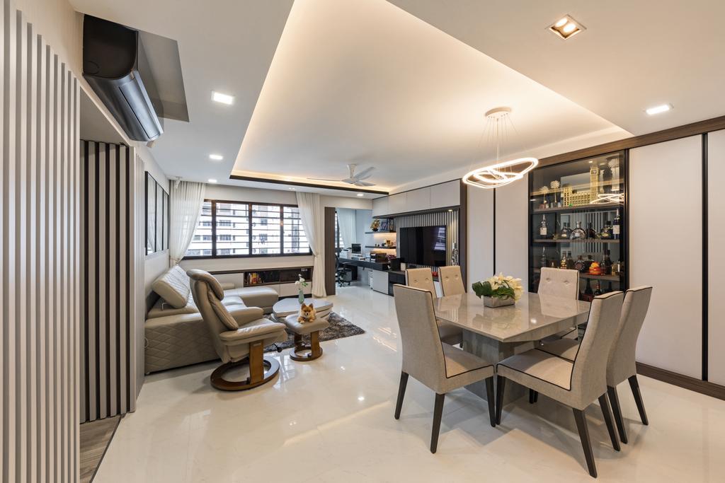 Contemporary, HDB, Toh Guan Road, Interior Designer, ING Designers