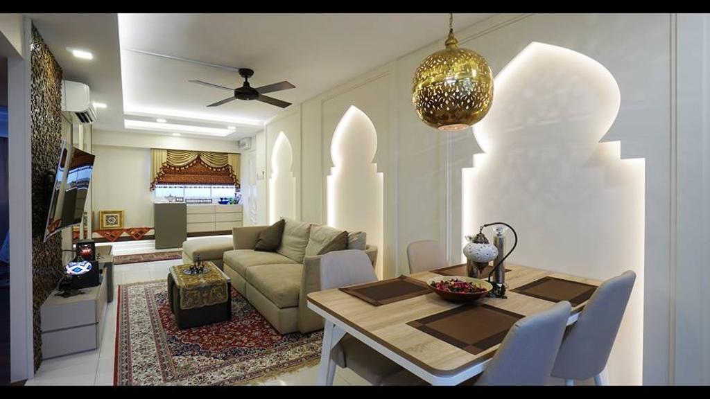 Modern, HDB, Tampines Street 12, Interior Designer, ING Designers