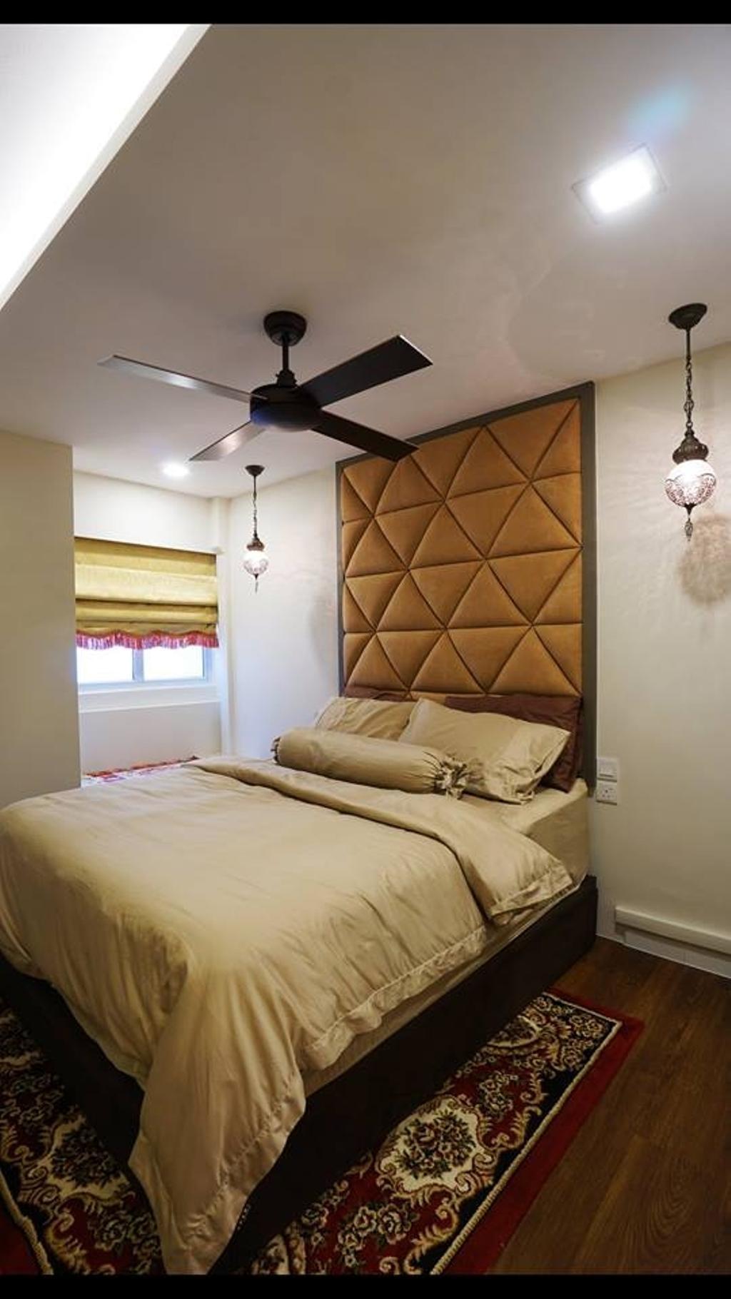 Modern, HDB, Bedroom, Tampines Street 12, Interior Designer, ING Designers
