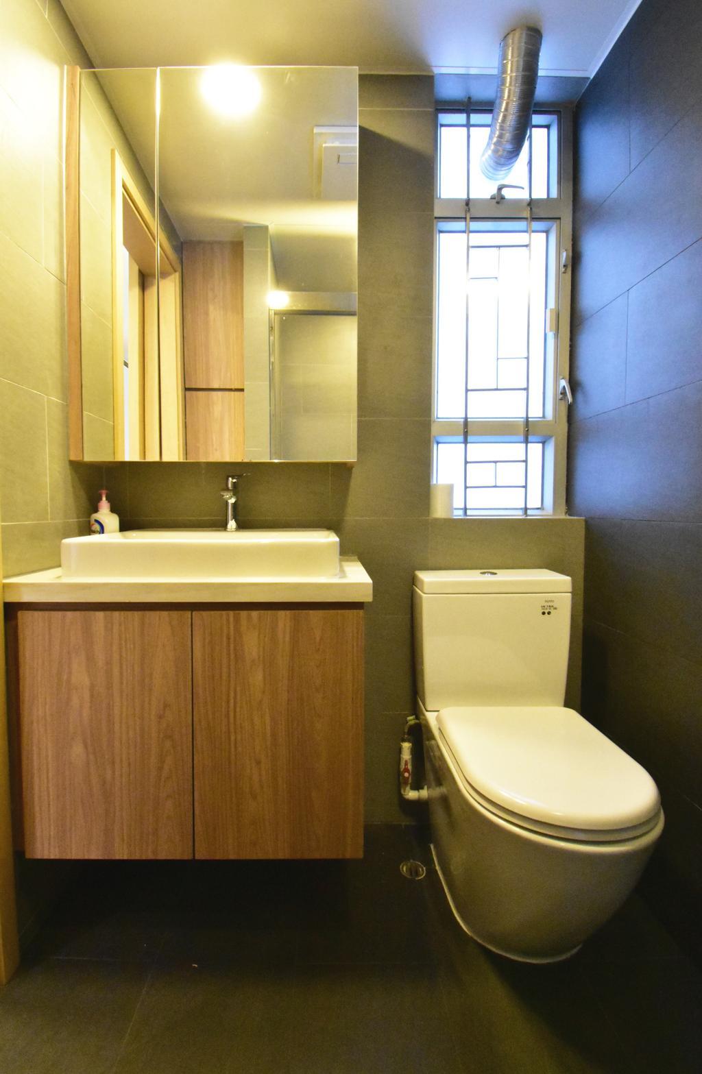 簡約, 私家樓, 浴室, 青衣青俊苑, 室內設計師, X Ka Design