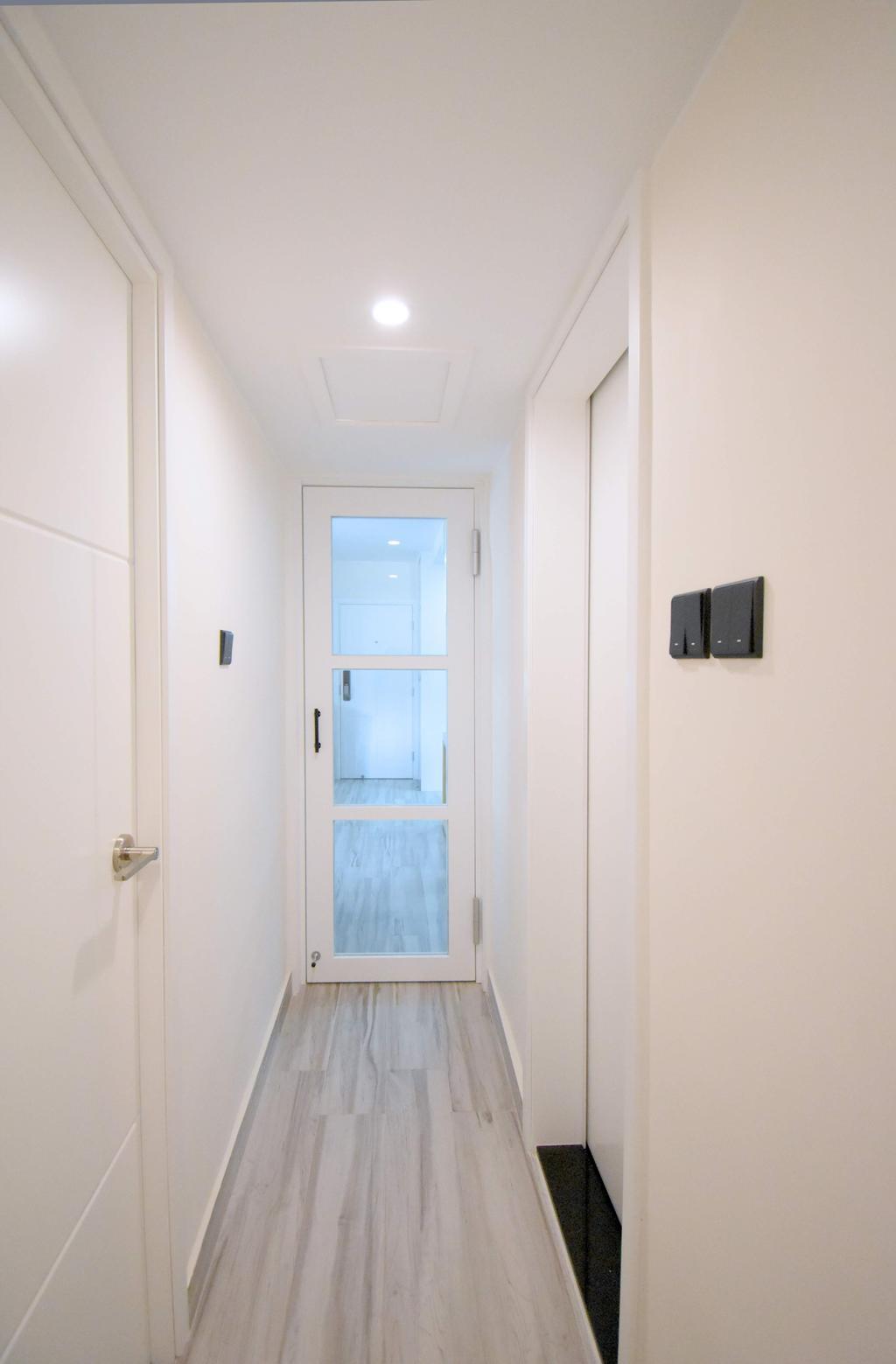 簡約, 私家樓, 客廳, 筲箕灣, 室內設計師, X Ka Design