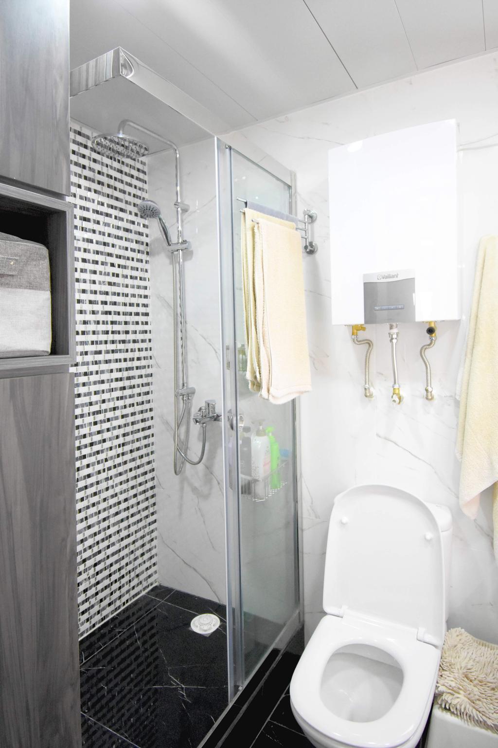 簡約, 私家樓, 浴室, 筲箕灣, 室內設計師, X Ka Design