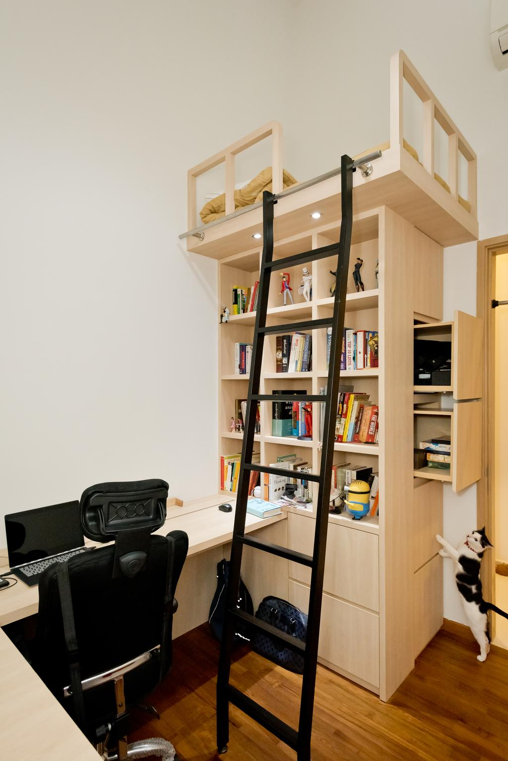 Minimalistic, Condo, Study, The Skywoods, Interior Designer, Klein Interiors