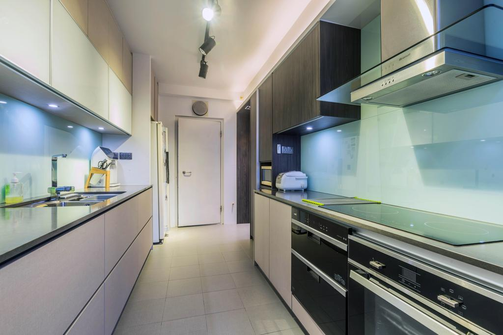 Contemporary, HDB, Kitchen, Ang Mo Kio Street 21, Interior Designer, ING Designers, Transitional