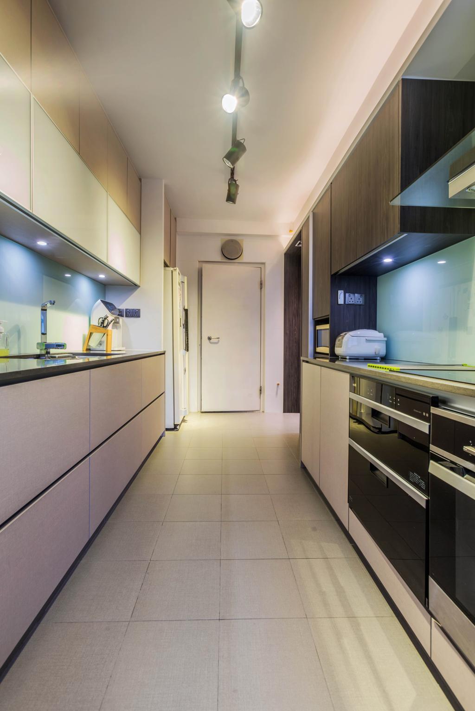 Contemporary, HDB, Kitchen, Ang Mo Kio Street 21, Interior Designer, ING Designers, Transitional