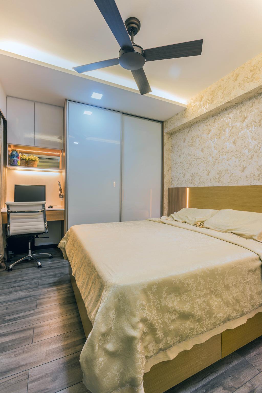 Contemporary, HDB, Bedroom, Ang Mo Kio Street 21, Interior Designer, ING Designers, Transitional