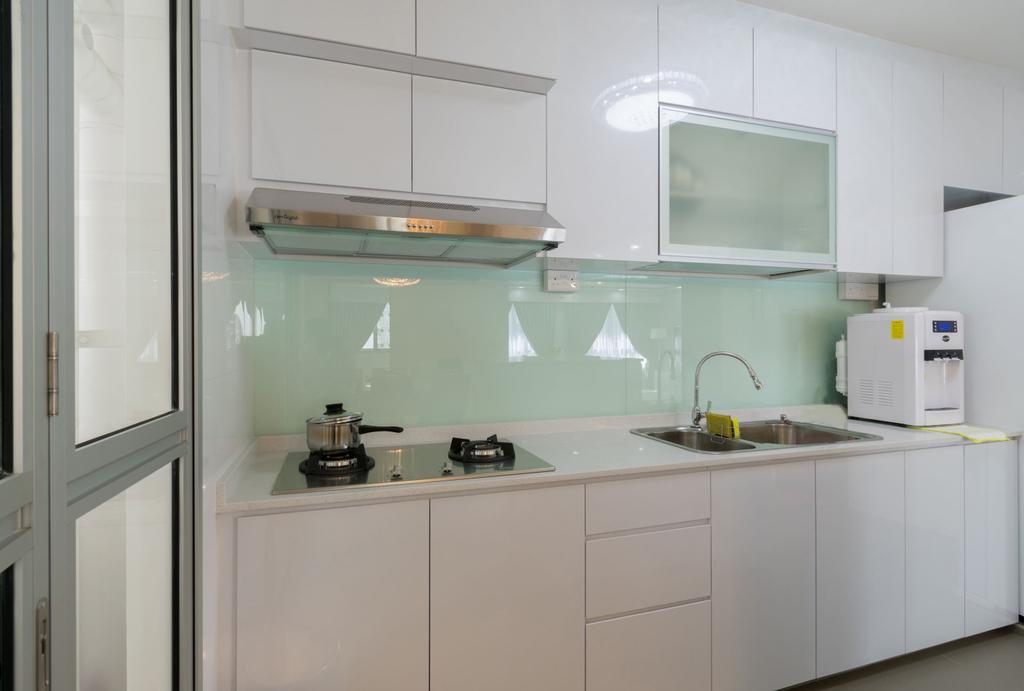 Modern, HDB, Kitchen, Boon Lay Avenue, Interior Designer, Yang's Inspiration Design