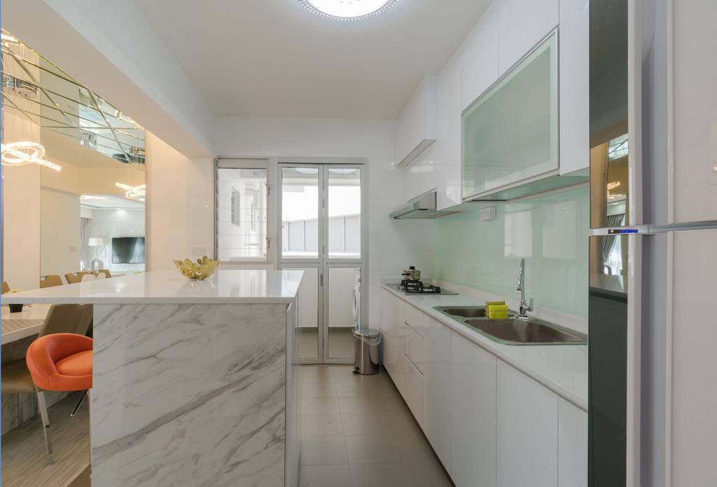 Modern, HDB, Boon Lay Avenue, Interior Designer, Yang's Inspiration Design