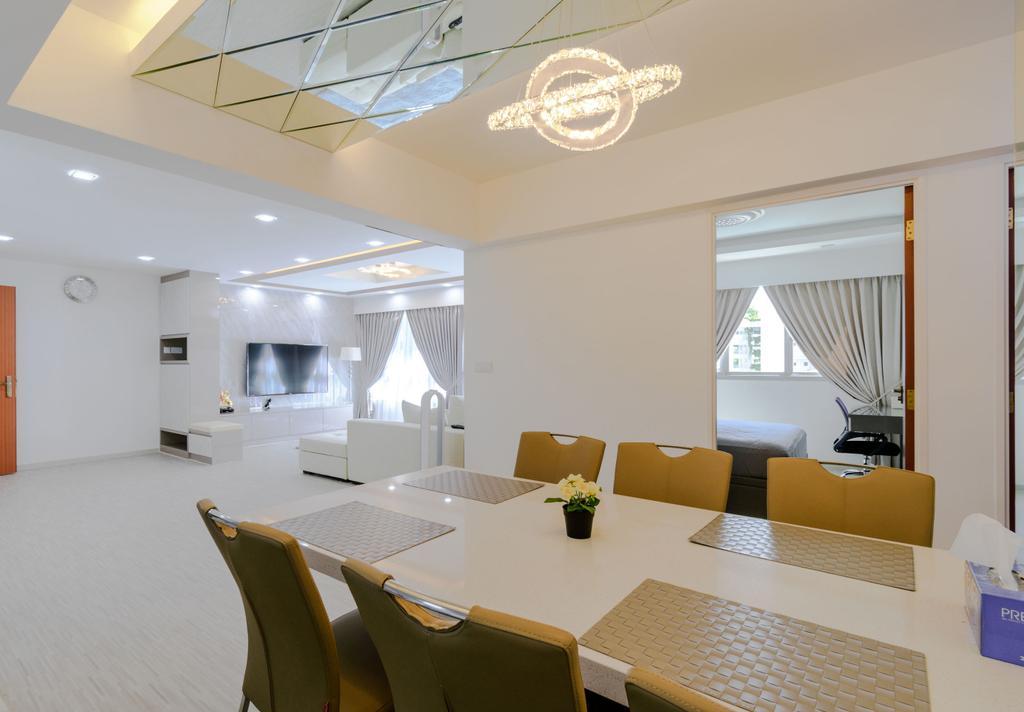 Modern, HDB, Dining Room, Boon Lay Avenue, Interior Designer, Yang's Inspiration Design