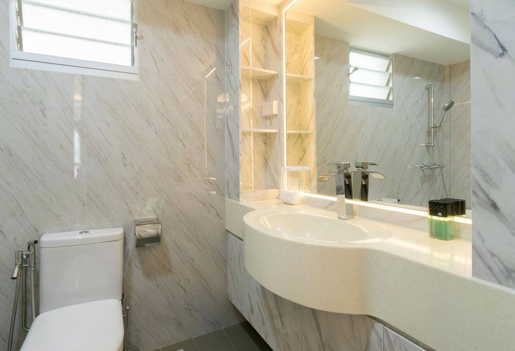 Modern, HDB, Bathroom, Boon Lay Avenue, Interior Designer, Yang's Inspiration Design