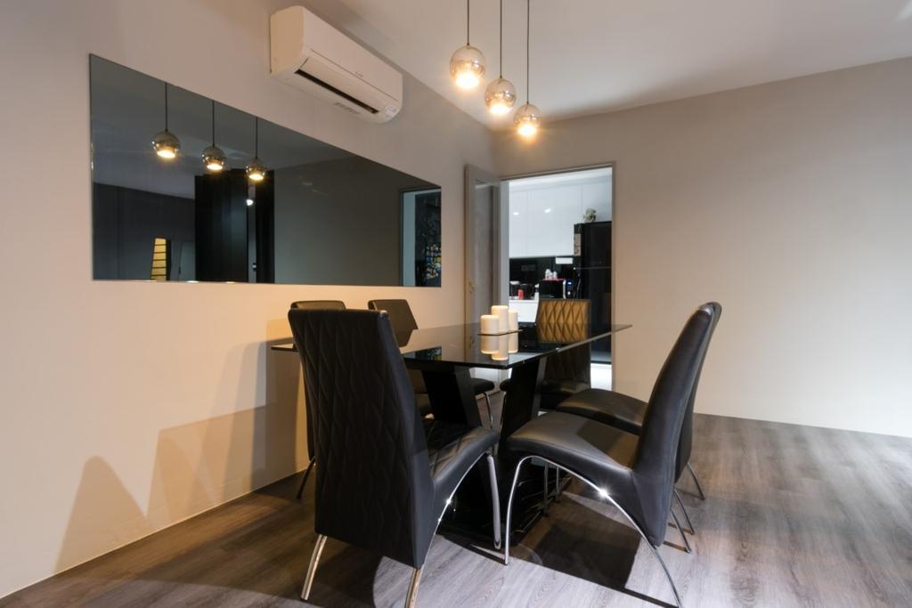 HDB, Dining Room, Compassvale Crescent, Interior Designer, Yang's Inspiration Design