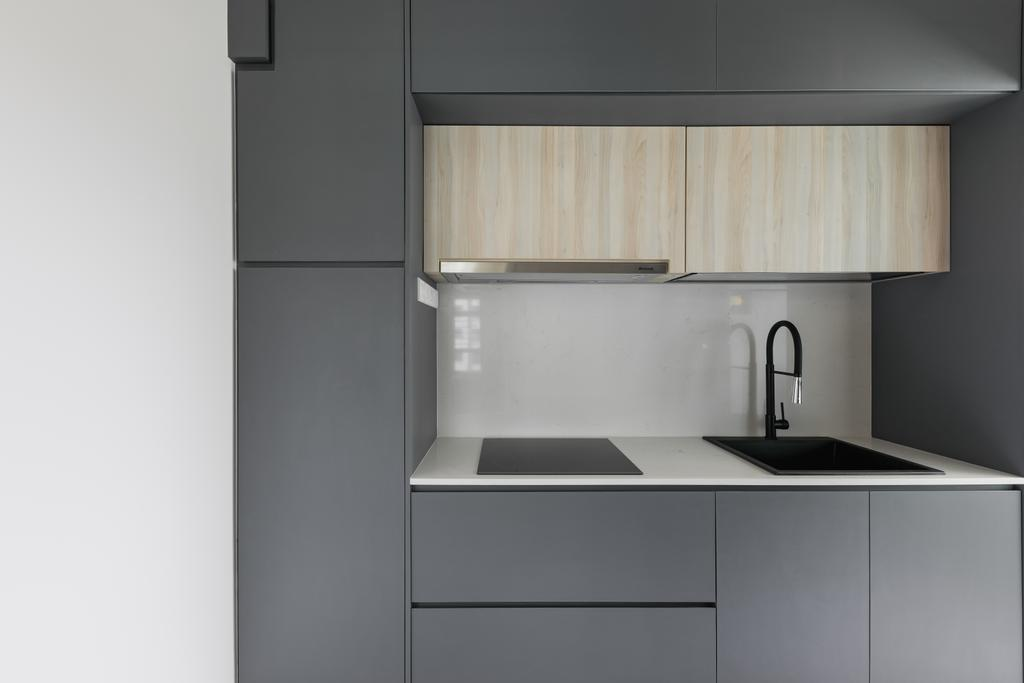 Contemporary, HDB, Kitchen, Choa Chu Kang Avenue 1, Interior Designer, The Concept