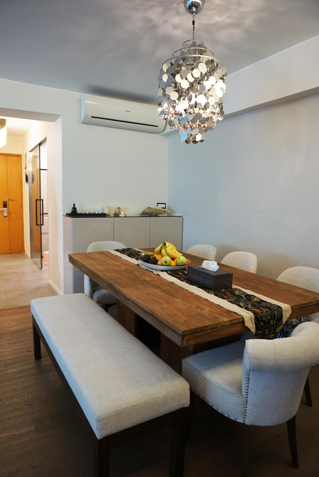 私家樓, 飯廳, 觀瀾雅軒, 室內設計師, AQUA Projects