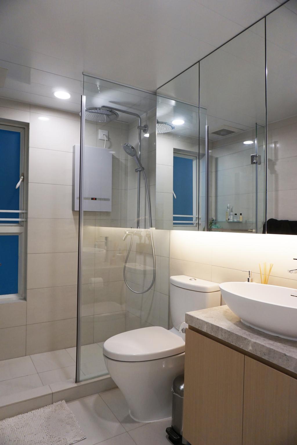 私家樓, 浴室, 觀瀾雅軒, 室內設計師, AQUA Projects