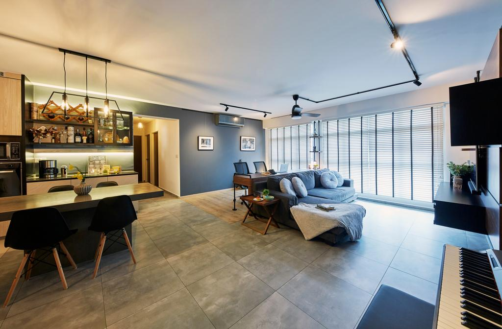 Contemporary, HDB, Sumang Lane, Interior Designer, i-Chapter