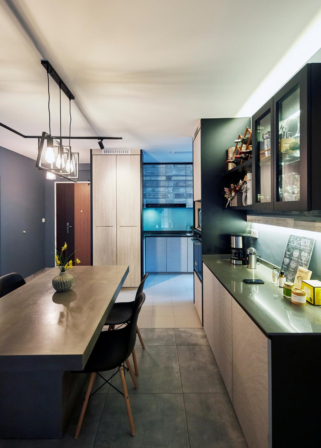 Contemporary, HDB, Sumang Lane, Interior Designer, i-Chapter