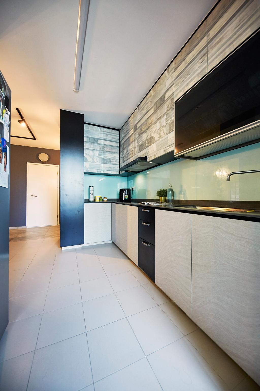 Contemporary, HDB, Kitchen, Sumang Lane, Interior Designer, i-Chapter