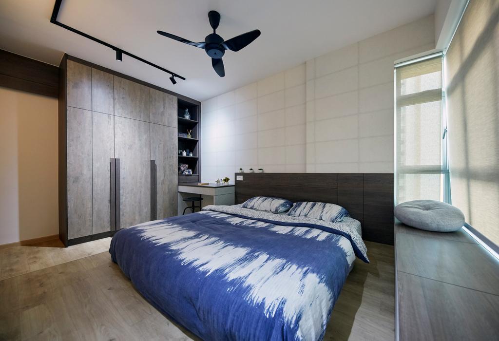 Contemporary, HDB, Bedroom, Sumang Lane, Interior Designer, i-Chapter