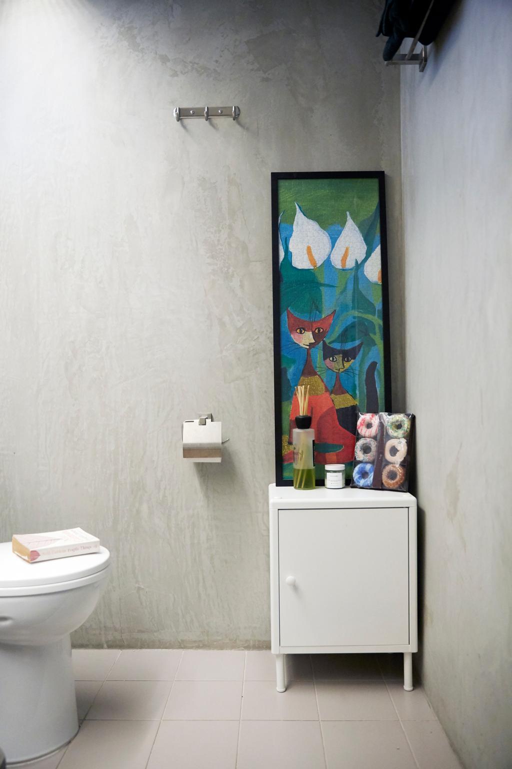 Contemporary, HDB, Bathroom, Sumang Lane, Interior Designer, i-Chapter