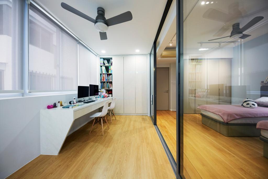 Contemporary, Landed, Study, Pavilion Circle, Interior Designer, i-Chapter