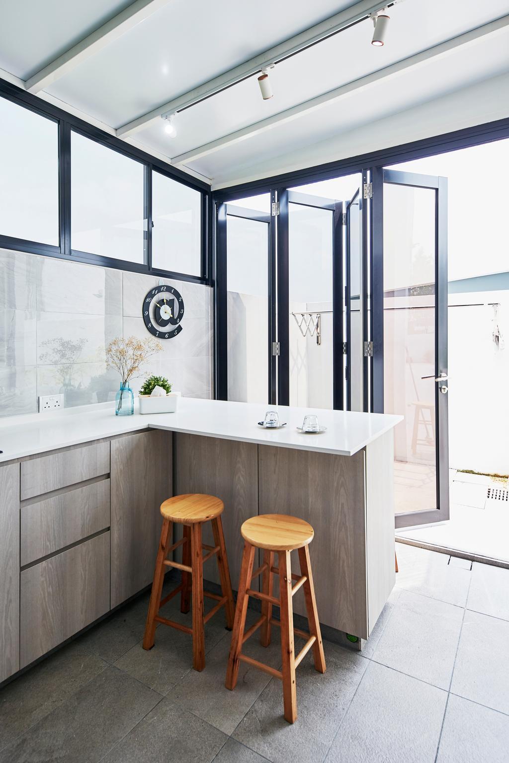 Contemporary, Landed, Kitchen, Pavilion Circle, Interior Designer, i-Chapter